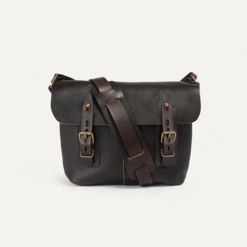 Louis Satchel bag - Dark Brown