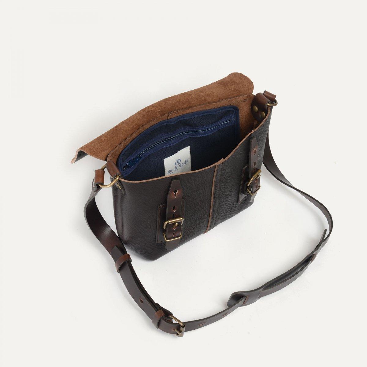 Louis Satchel bag - Dark Brown (image n°4)