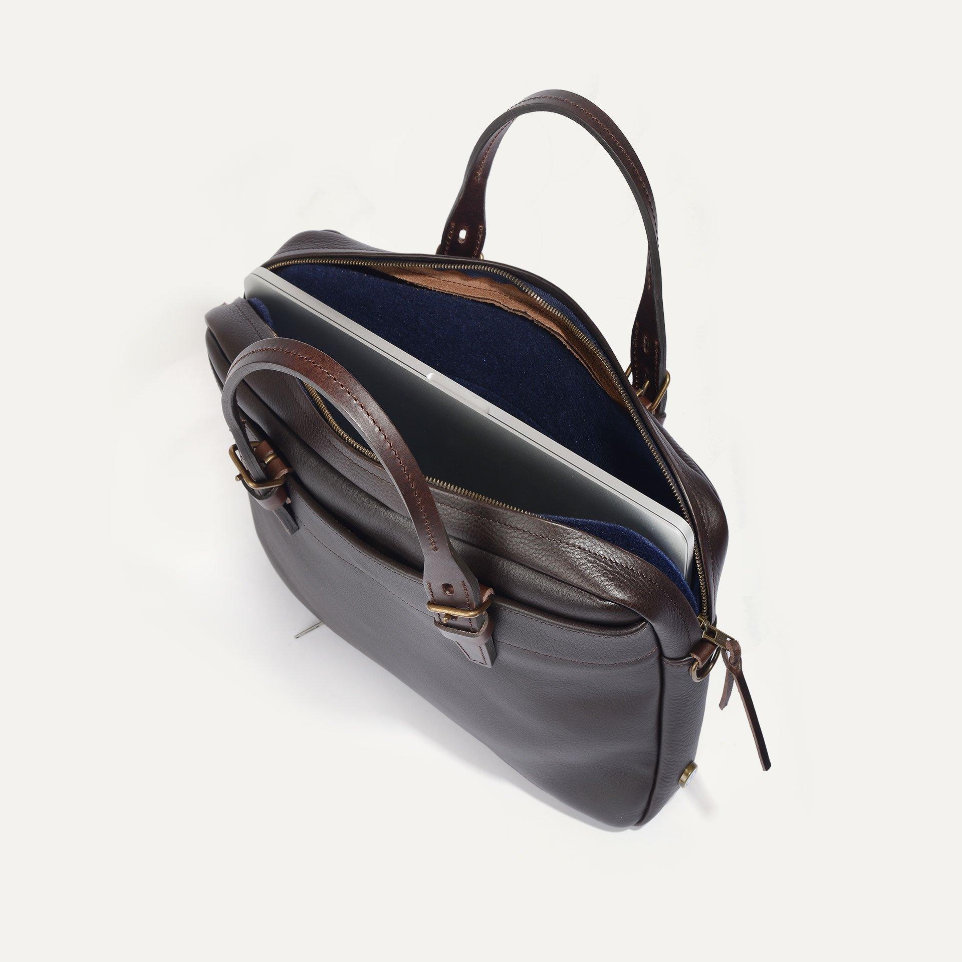 Folder Business bag - Dark Brown (image n°4)