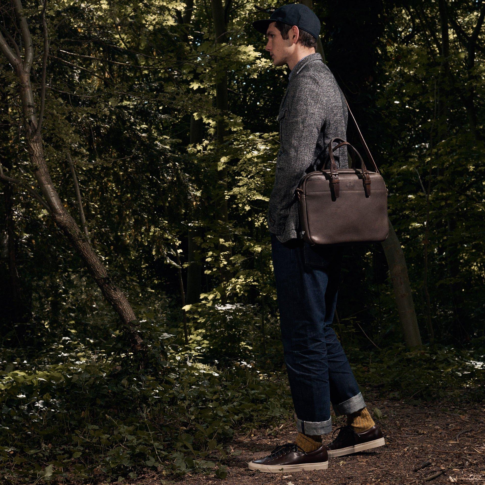 Folder Business bag - Dark Brown (image n°6)