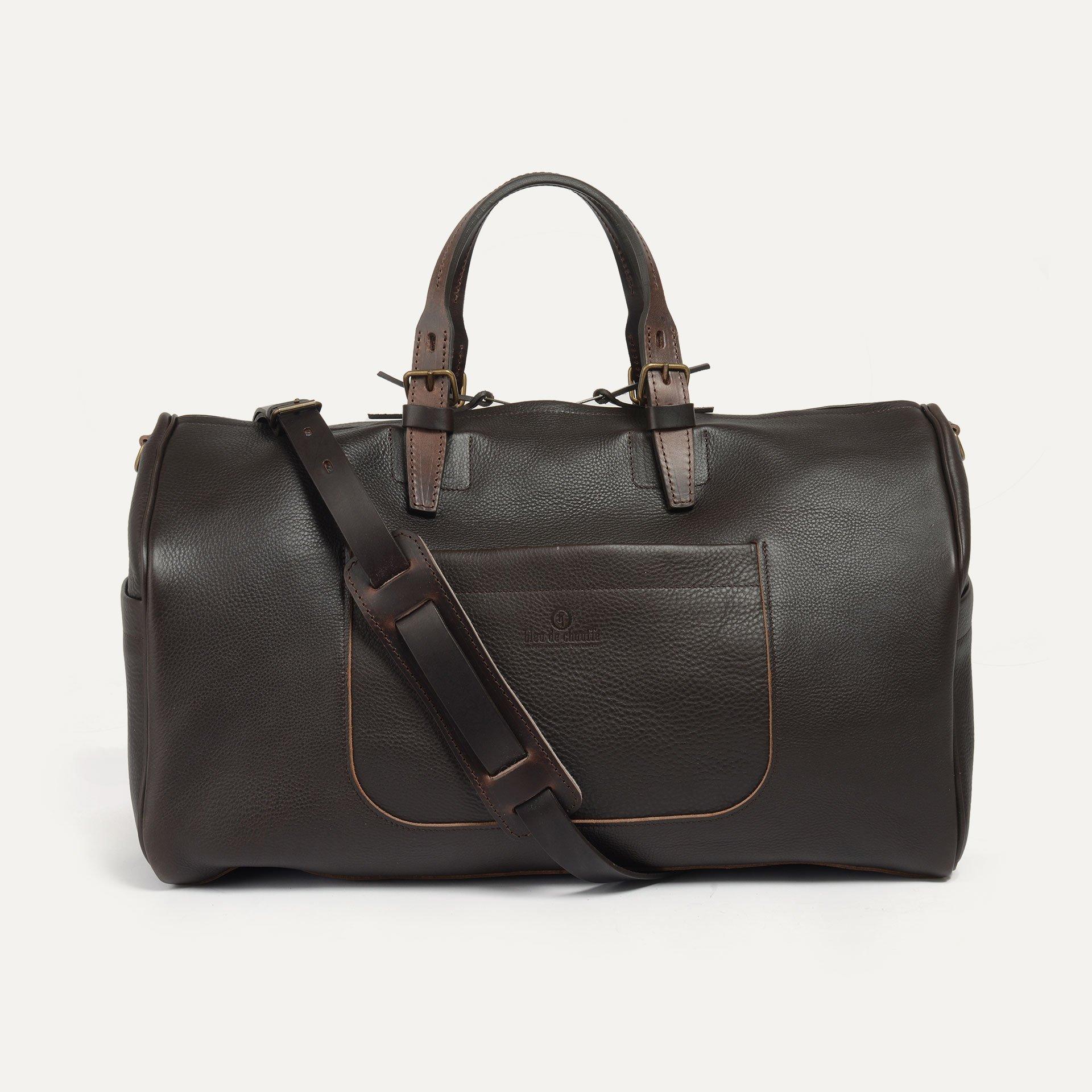 Hobo Travel bag - Dark Brown (image n°1)