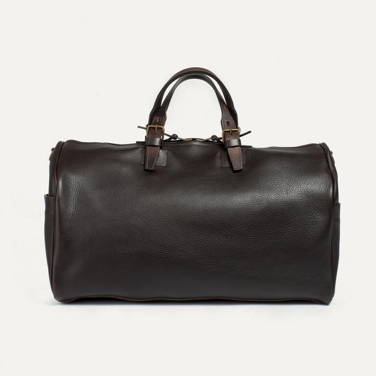 Hobo Travel bag - Dark Brown (image n°3)