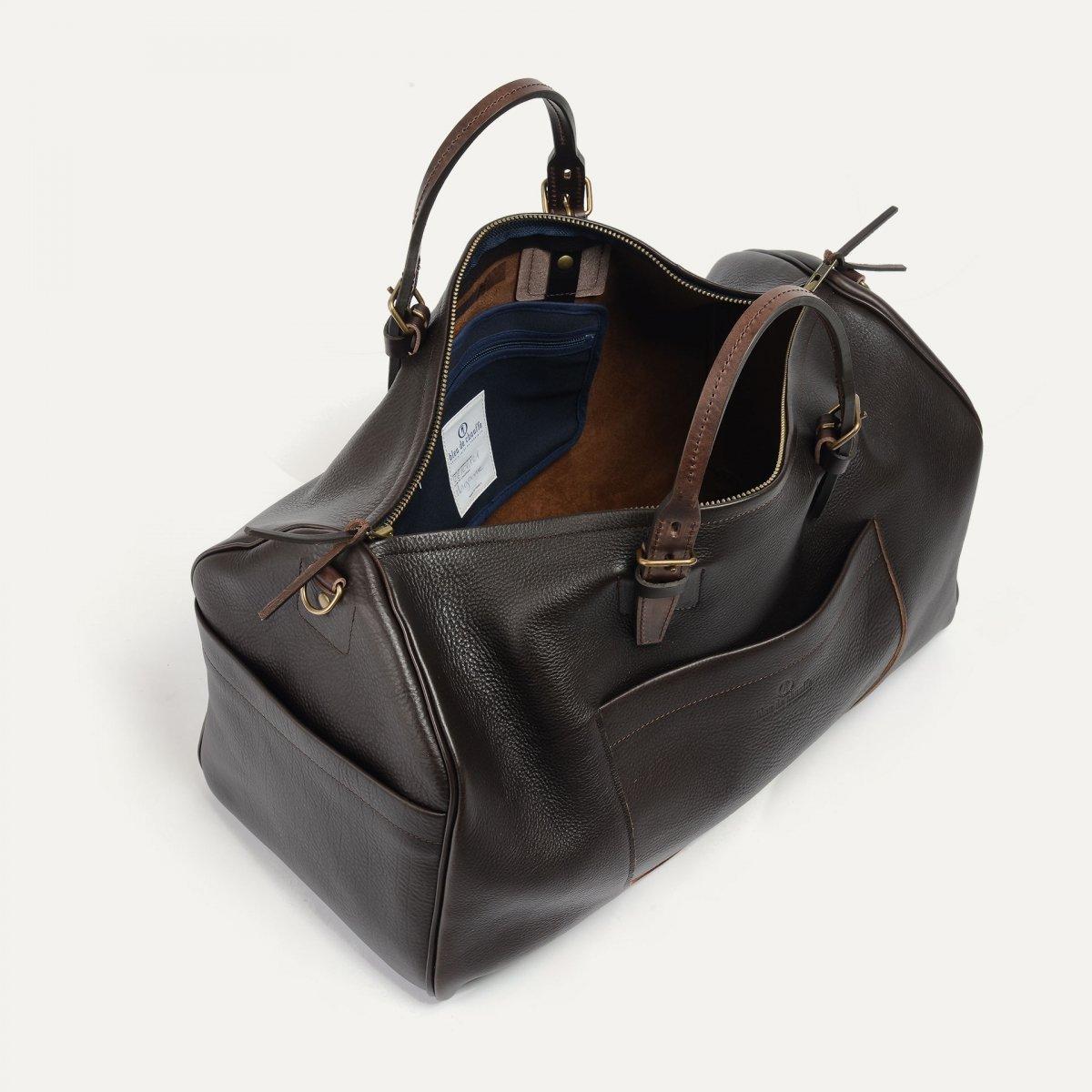 Hobo Travel bag - Dark Brown (image n°4)