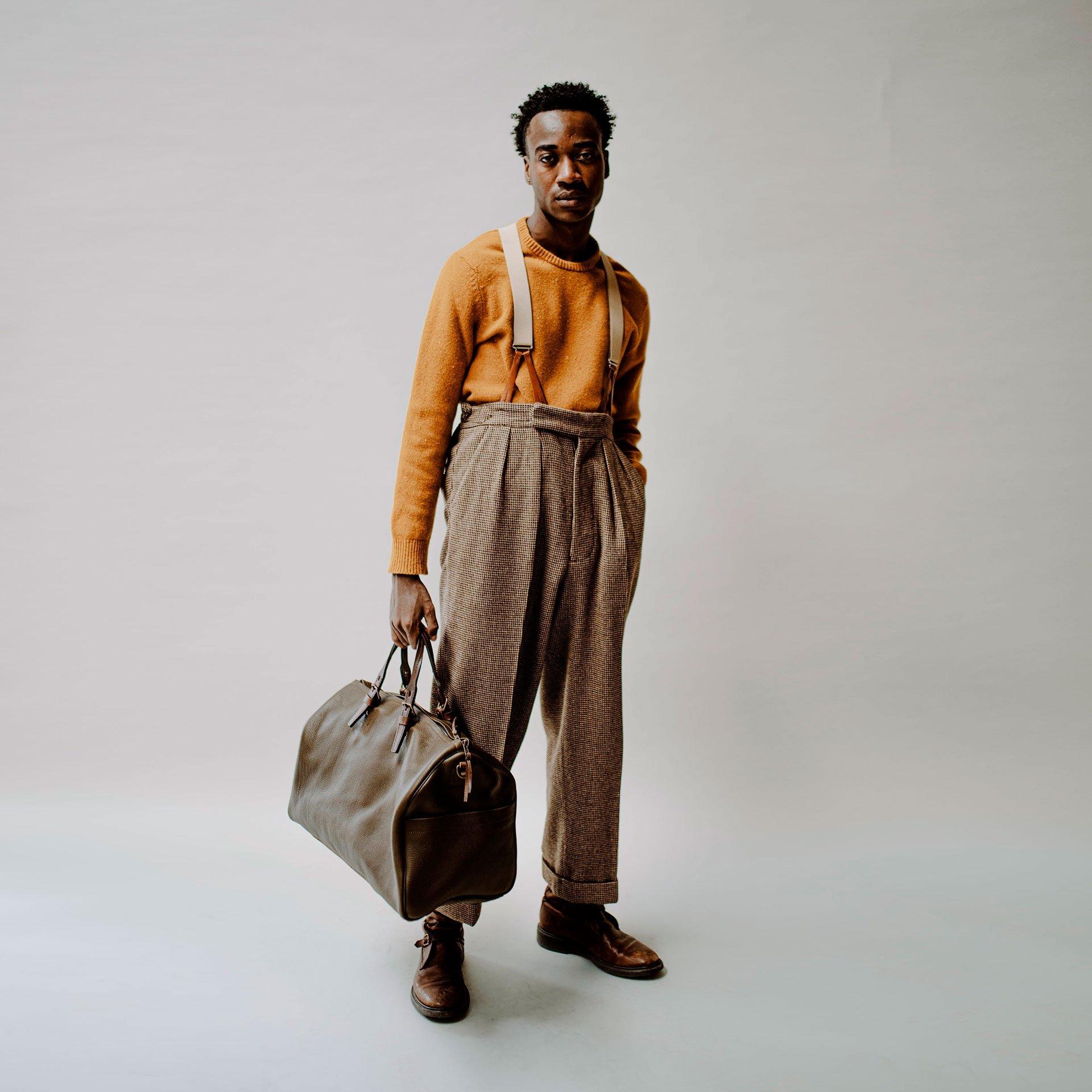 Hobo Travel bag - Dark Brown (image n°5)