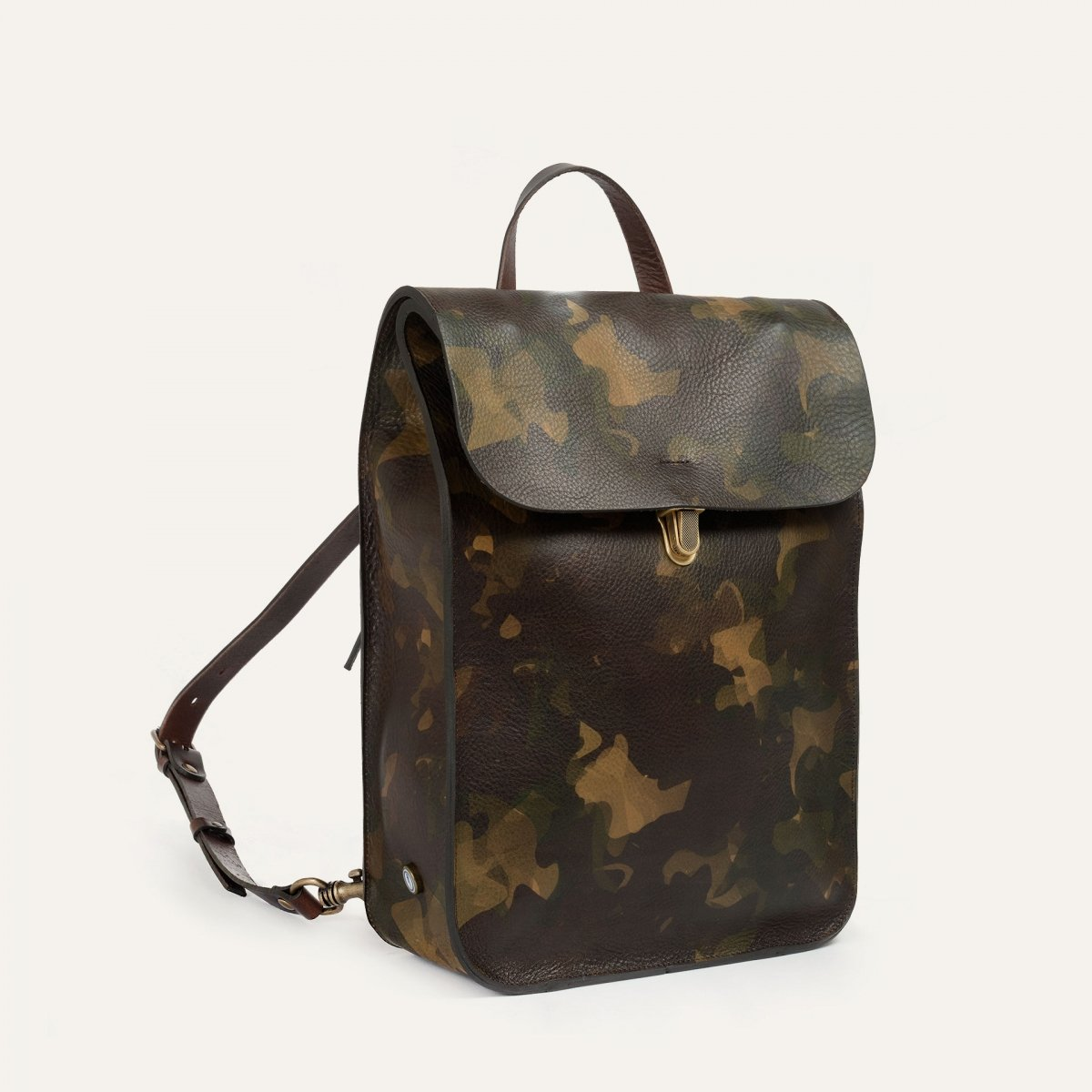 Puncho leather backpack - Camo (image n°2)
