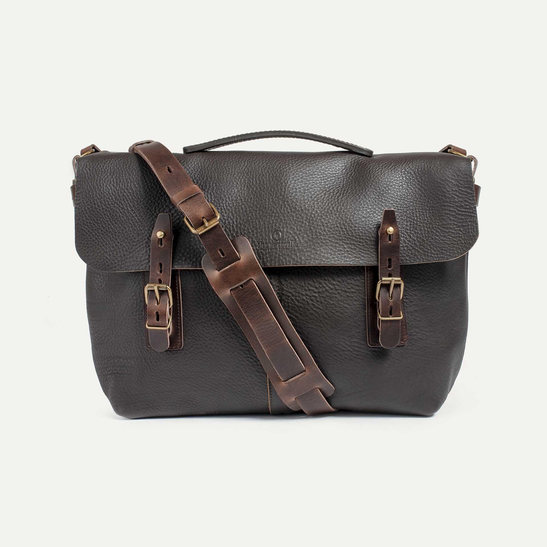 Lucien Satchel bag - Dark Brown (image n°1)