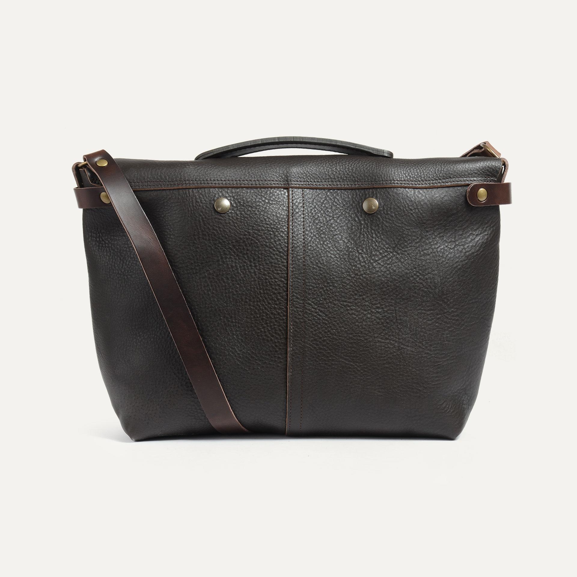 Lucien Satchel bag - Dark Brown (image n°3)