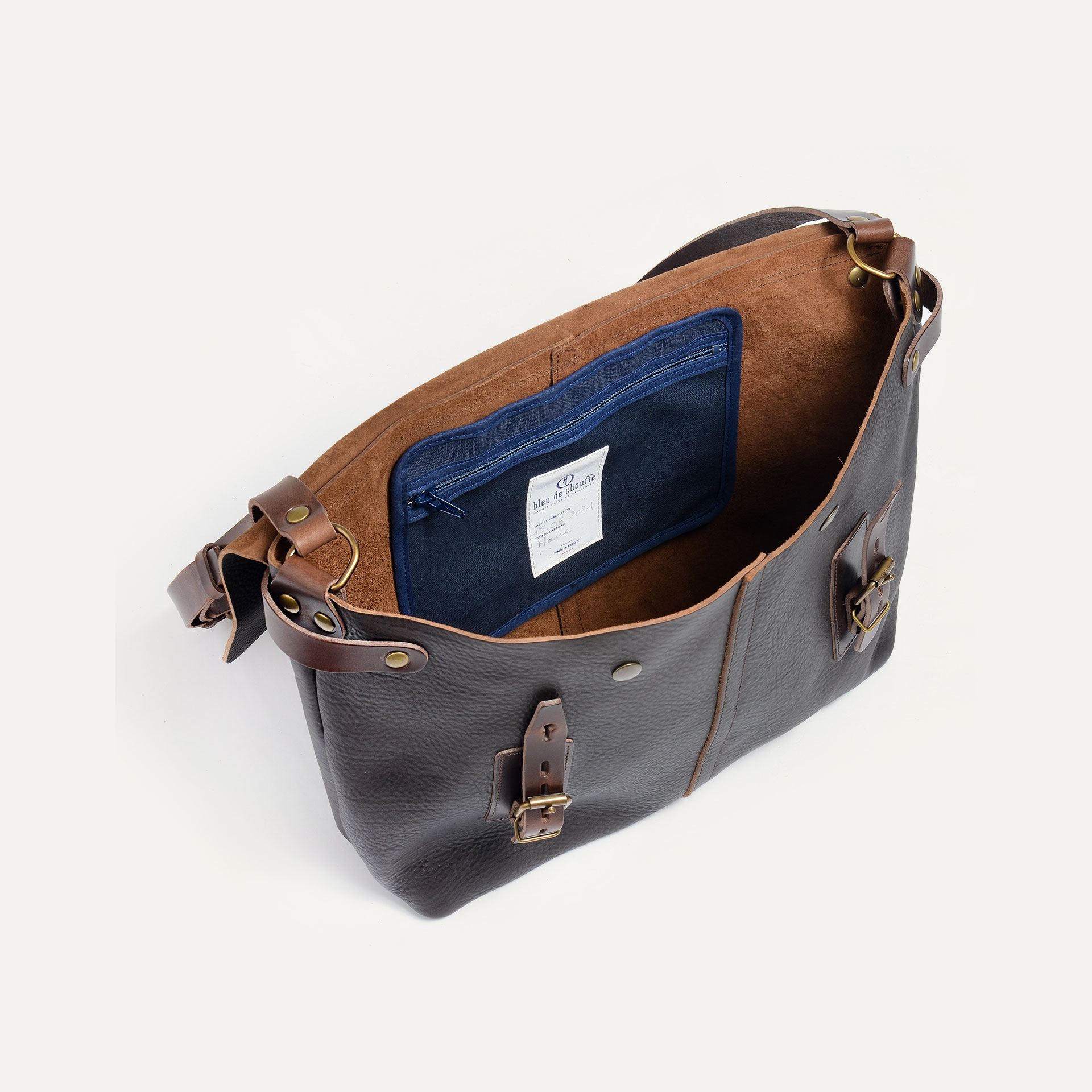 Lucien Satchel bag - Dark Brown (image n°4)