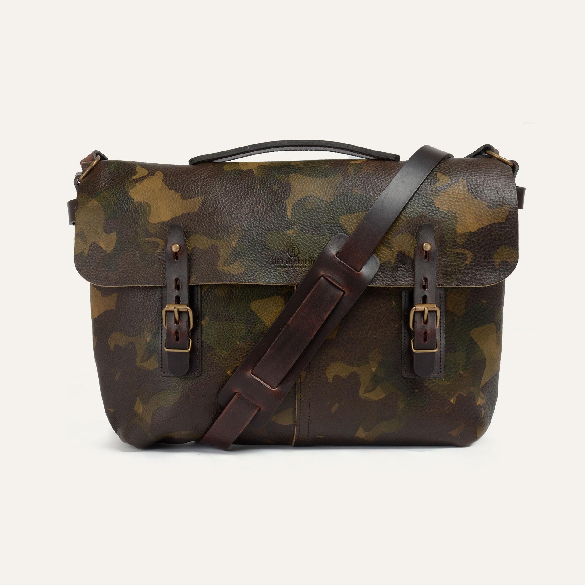 Lucien Satchel bag - Camo (image n°1)