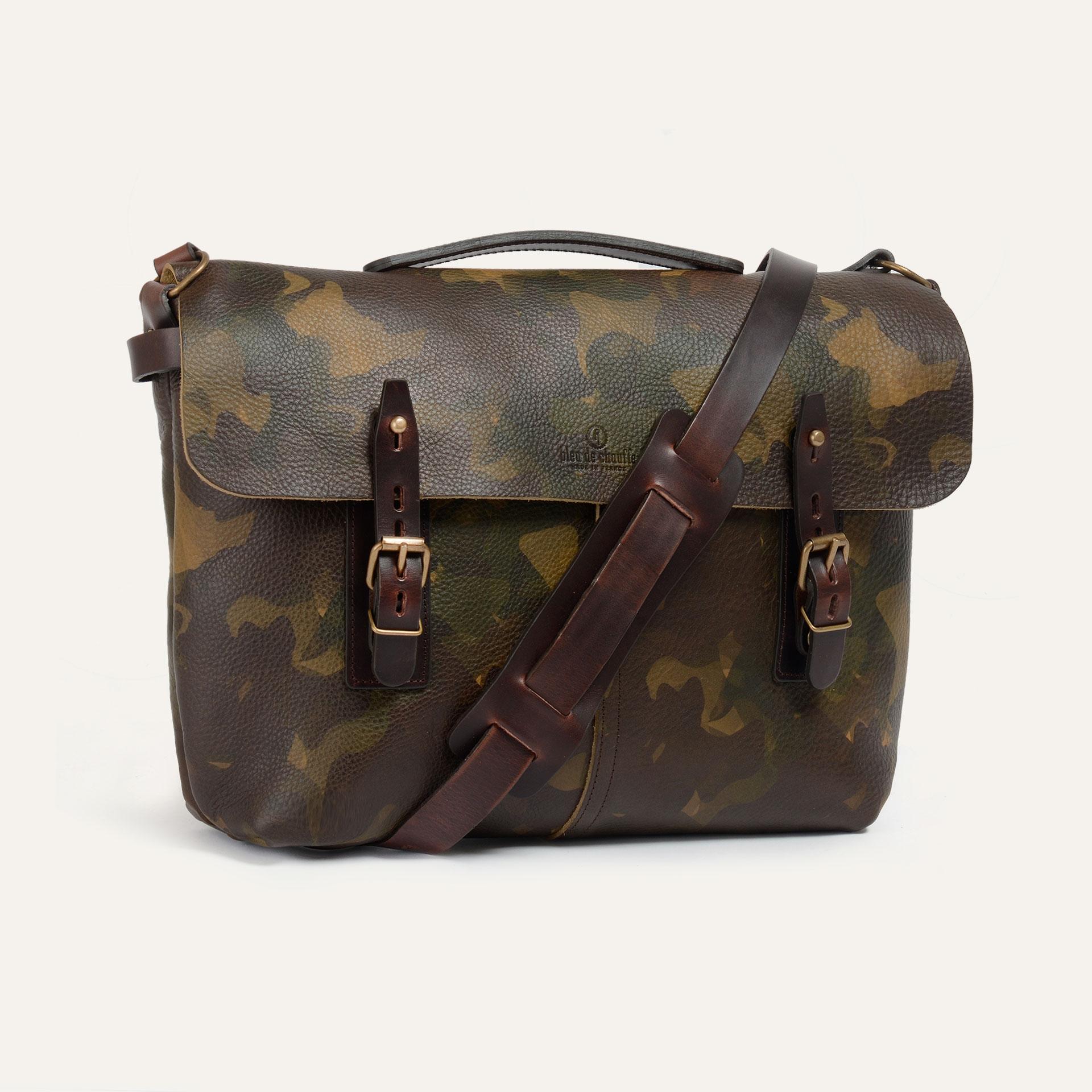 Lucien Satchel bag - Camo (image n°2)
