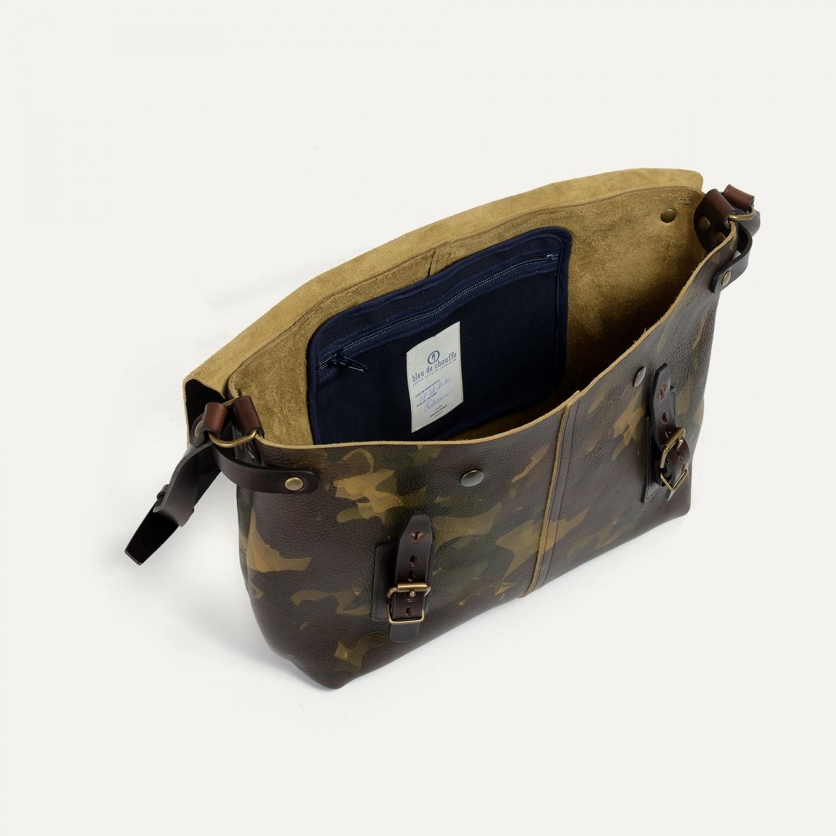 Lucien Satchel bag - Camo (image n°4)