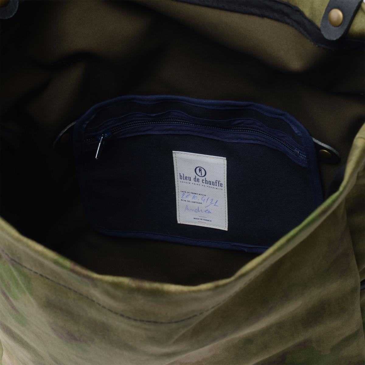 """Gaston tool bag – """"Musette""""- Camo (image n°4)"""