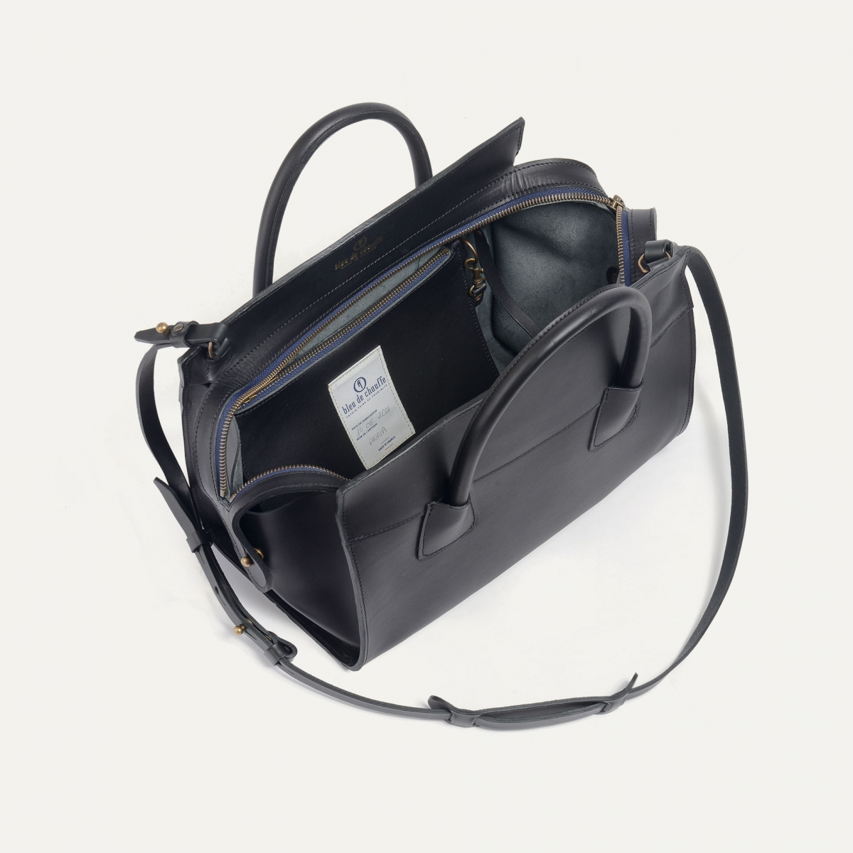Origami M Zipped Tote - Black (image n°4)