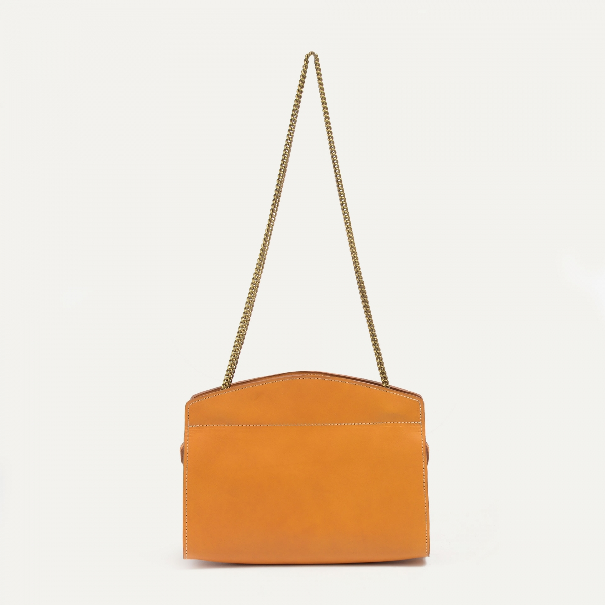 Origami S Zipped clutch bag - Honey (image n°1)