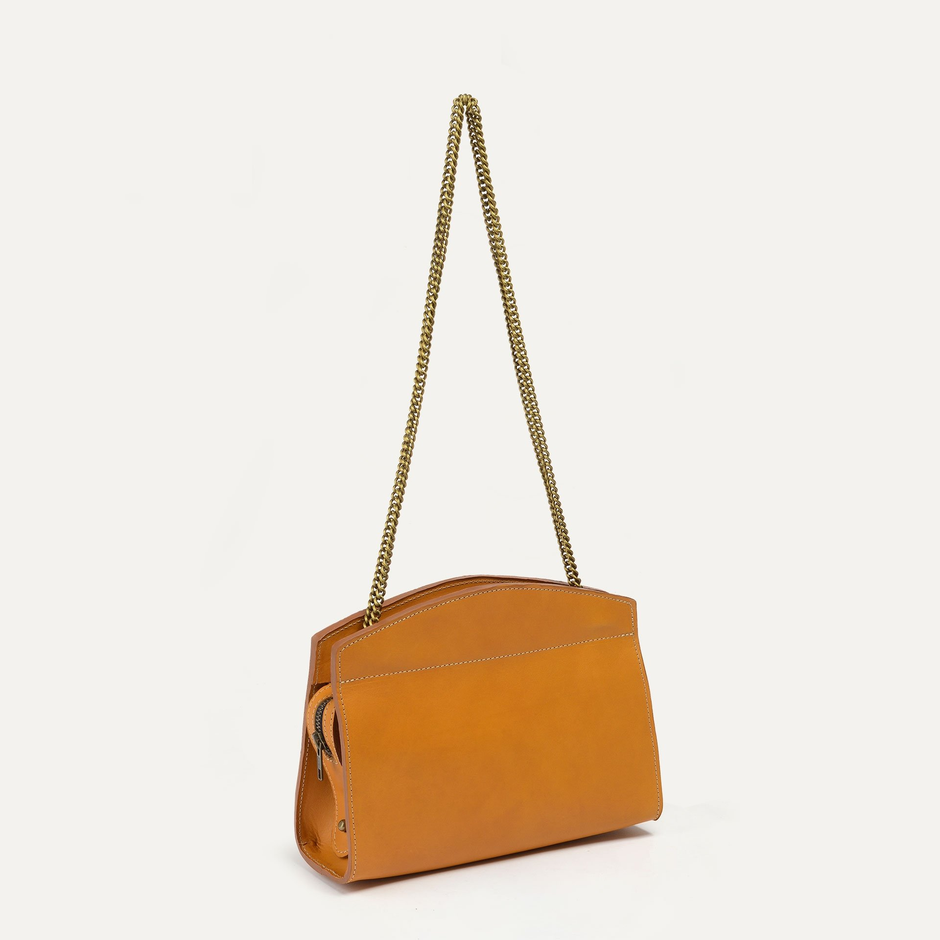 Origami S Zipped clutch bag - Honey (image n°2)
