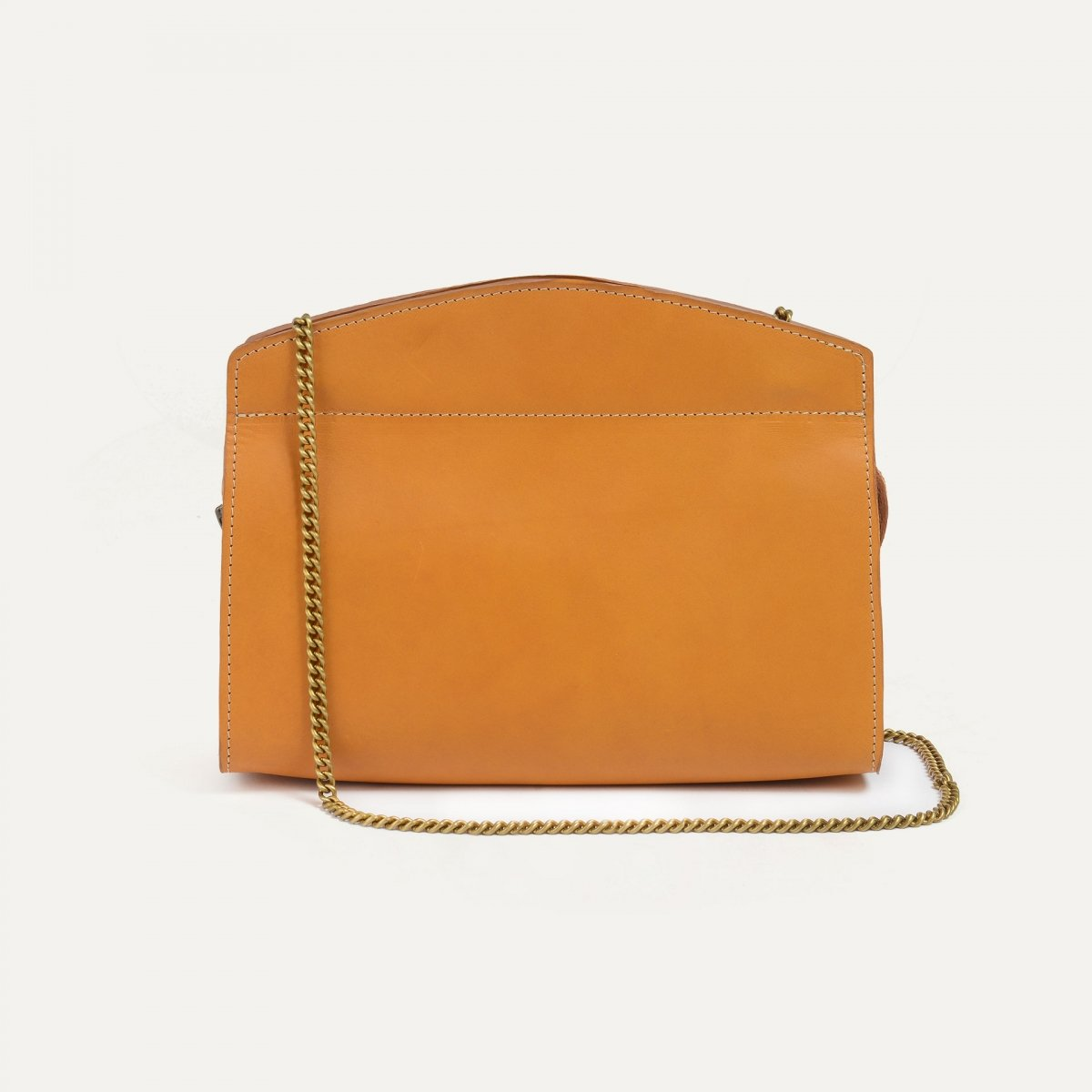Origami S Zipped clutch bag - Honey (image n°3)