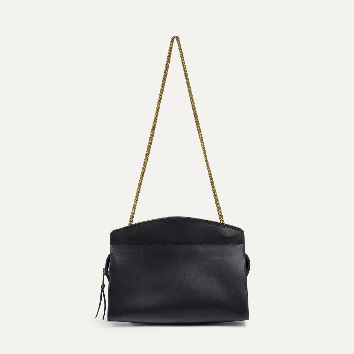 ORIGAMI S zipped clutch - Black (image n°1)