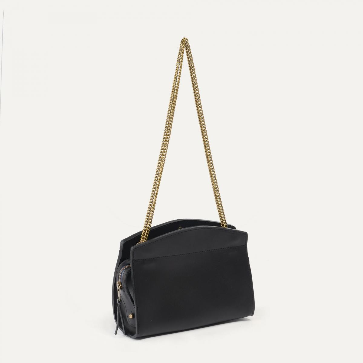 ORIGAMI S zipped clutch - Black (image n°2)
