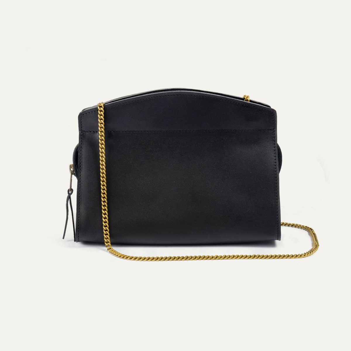 ORIGAMI S zipped clutch - Black (image n°3)