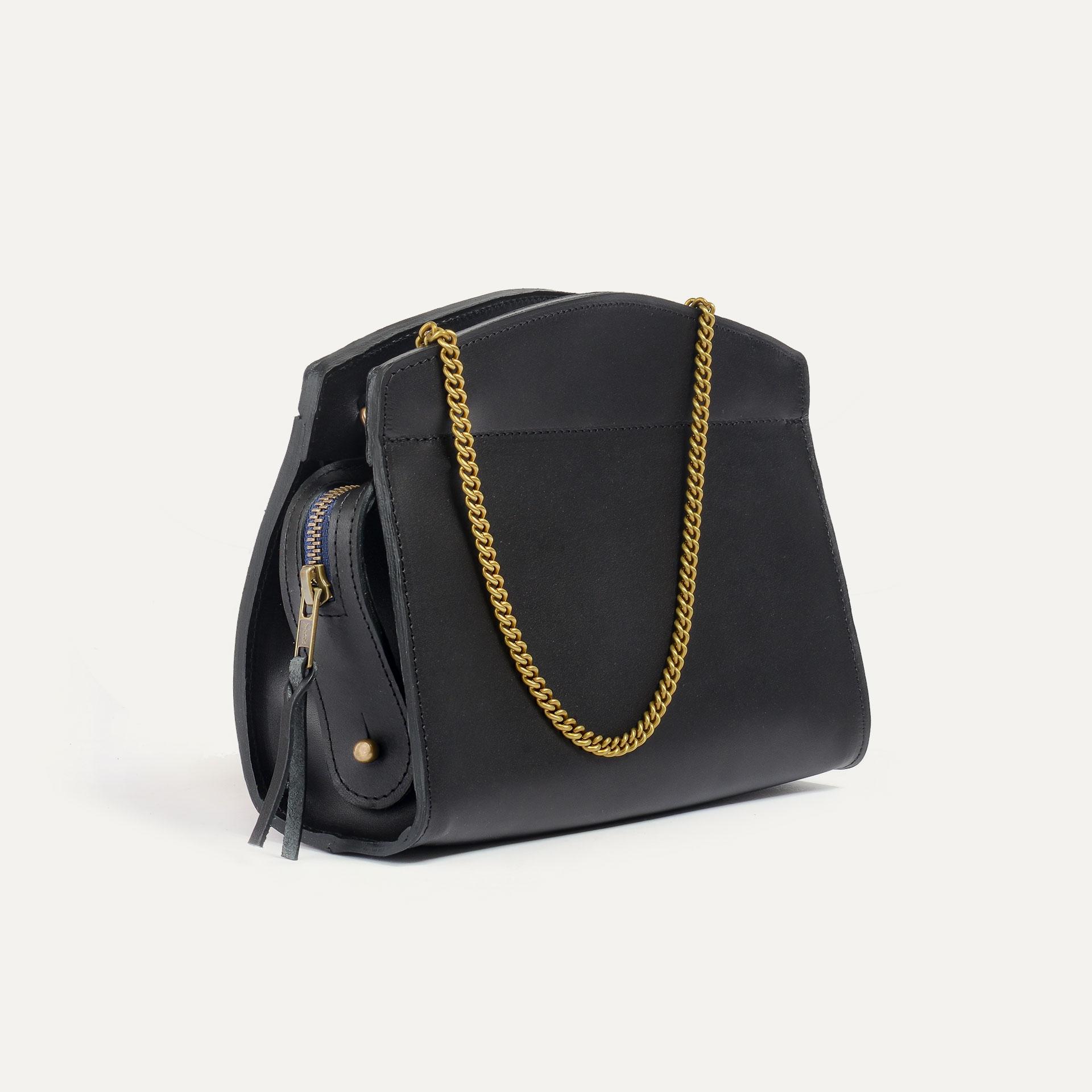 ORIGAMI S zipped clutch - Black (image n°4)