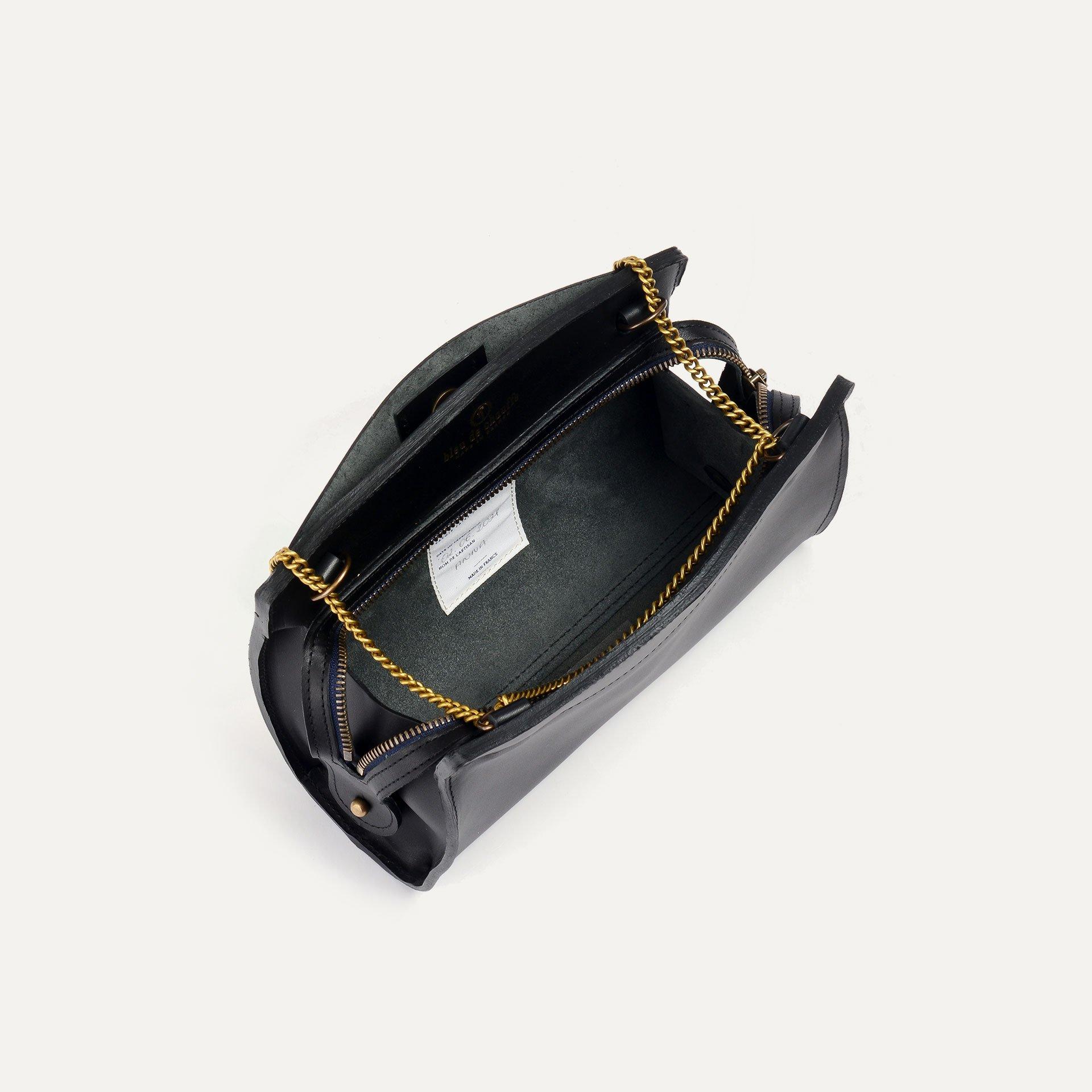 ORIGAMI S zipped clutch - Black (image n°5)