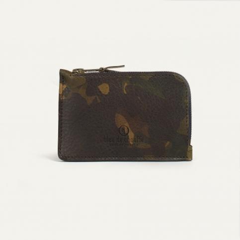Pognon zippered purse  / L - Camo