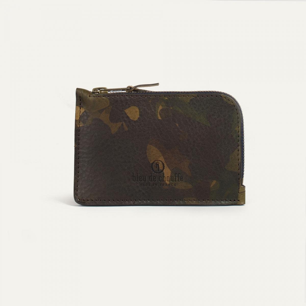 Pognon zippered purse  / L - Camo (image n°1)
