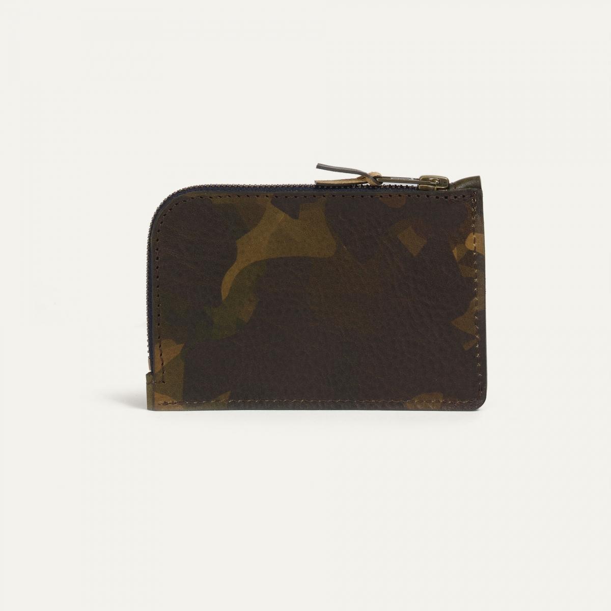 Pognon zippered purse  / L - Camo (image n°2)