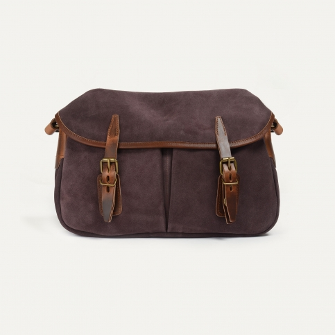 Fisherman's Musette S / Suede -  Burgundy
