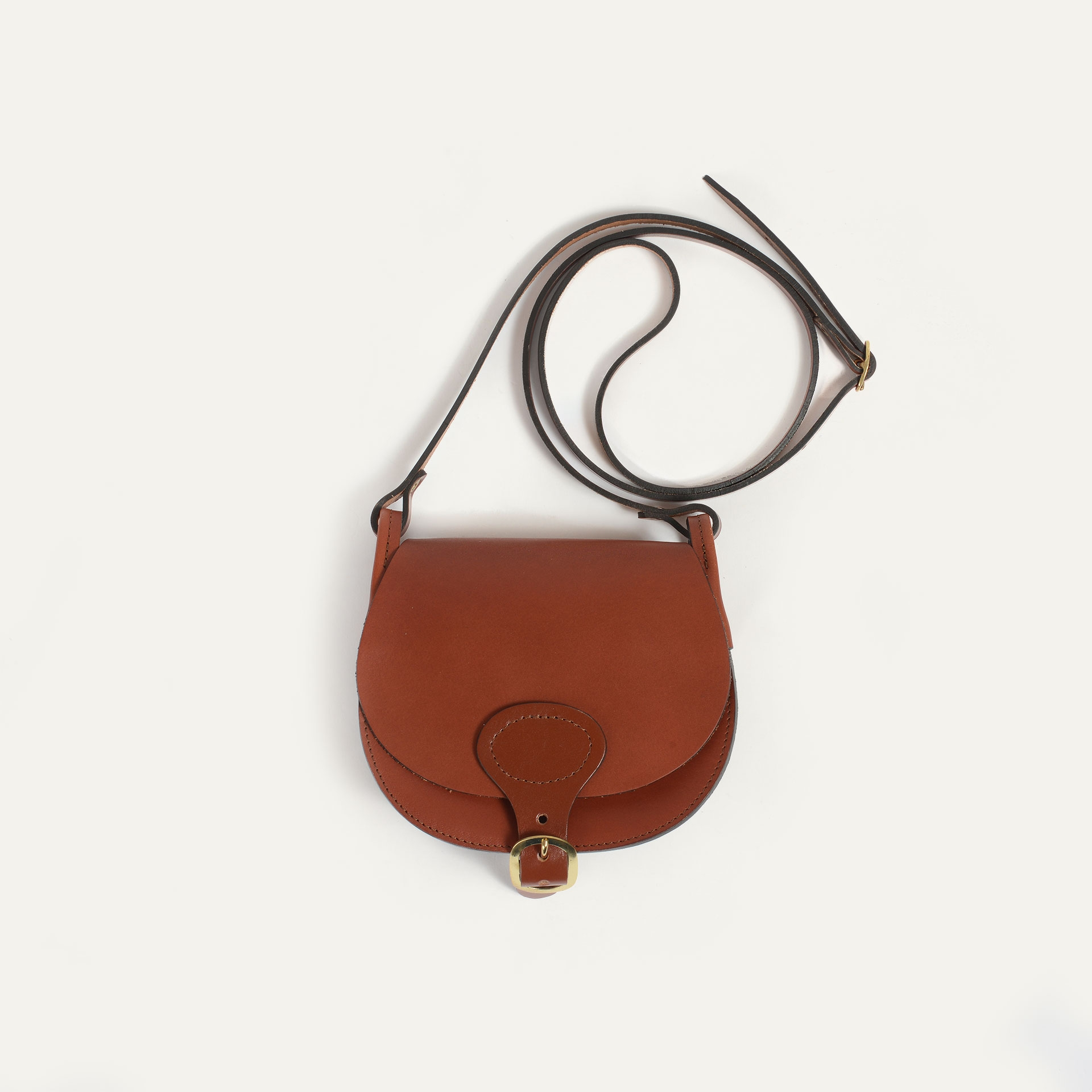 Diane S Gibecière bag - Rust (image n°4)