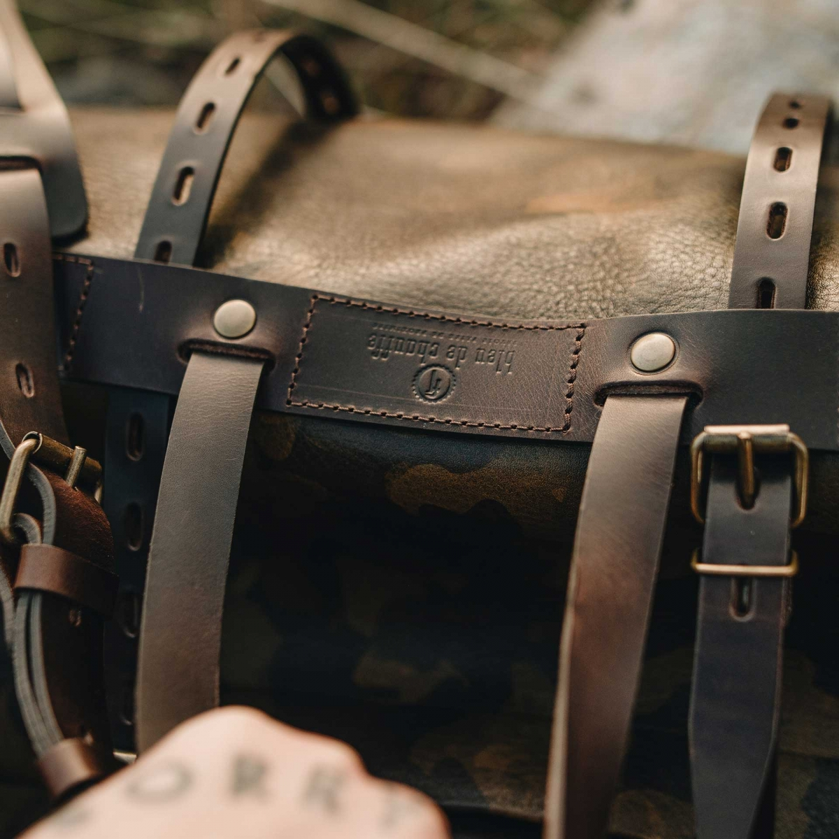 Bivouac travel bag - Camo (image n°7)