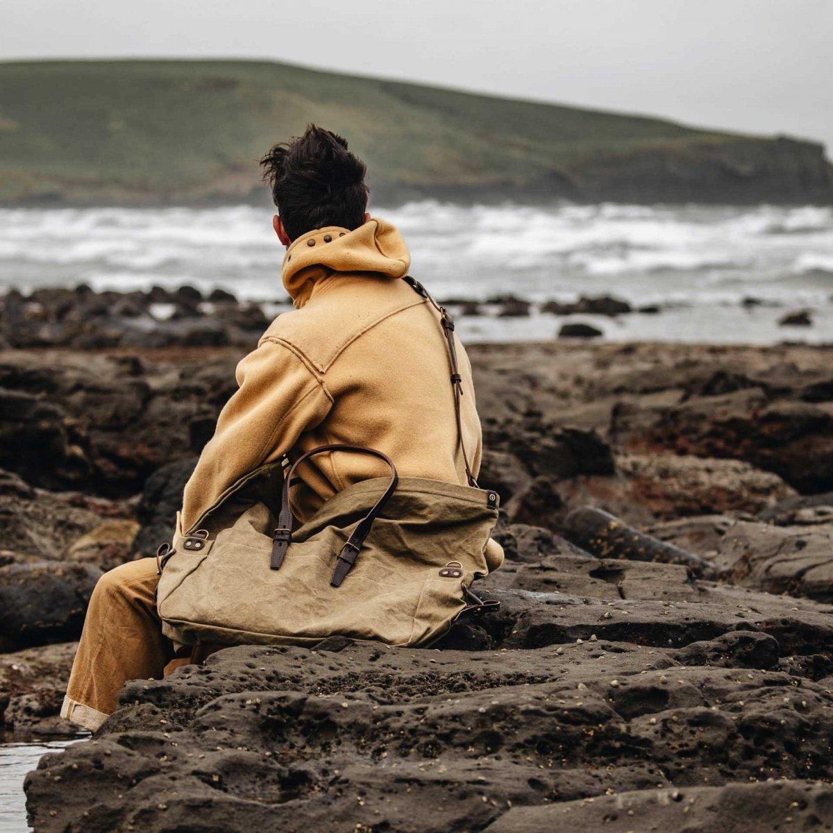 Cabine Travel bag -  khaki stonewashed (image n°5)