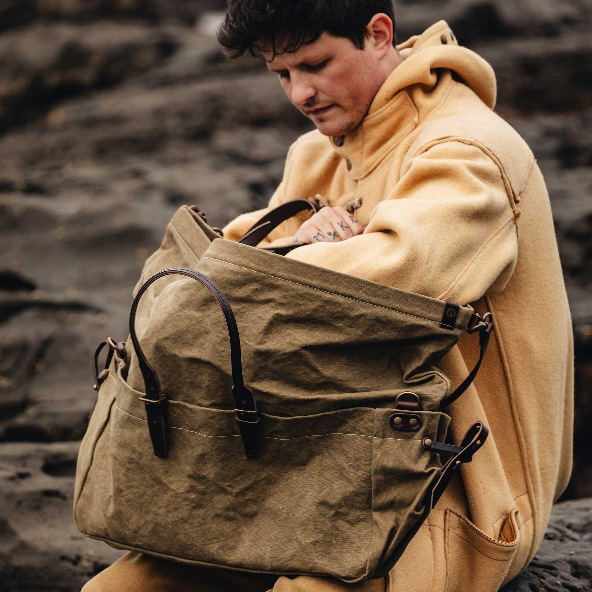 Cabine Travel bag  - Dark Khaki (image n°6)