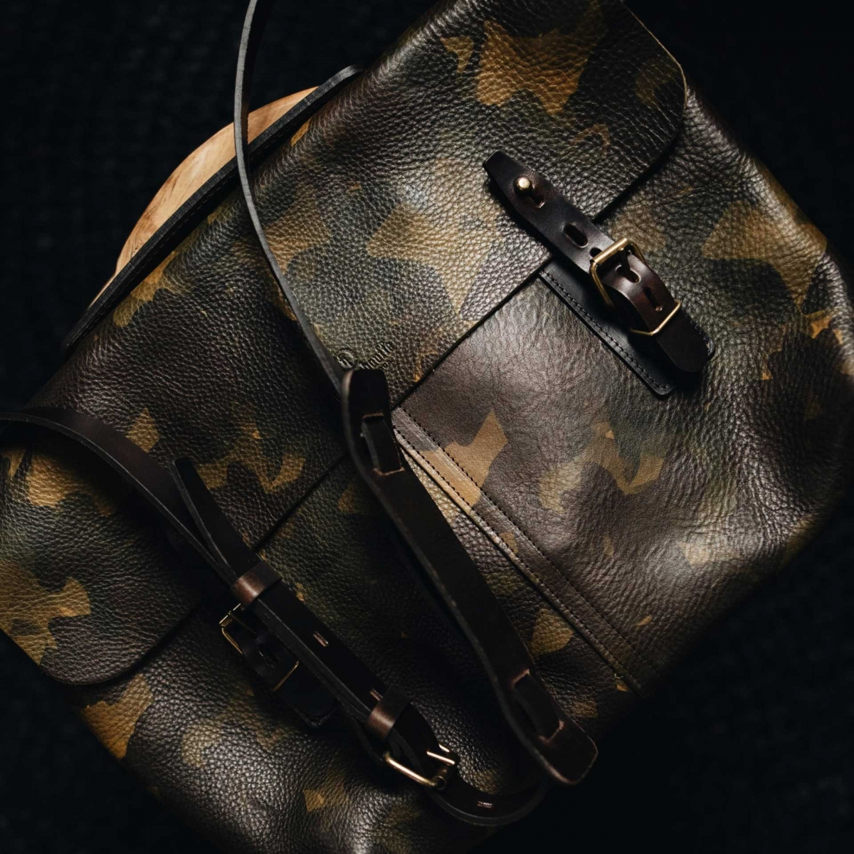 Lucien Satchel bag - Camo (image n°6)