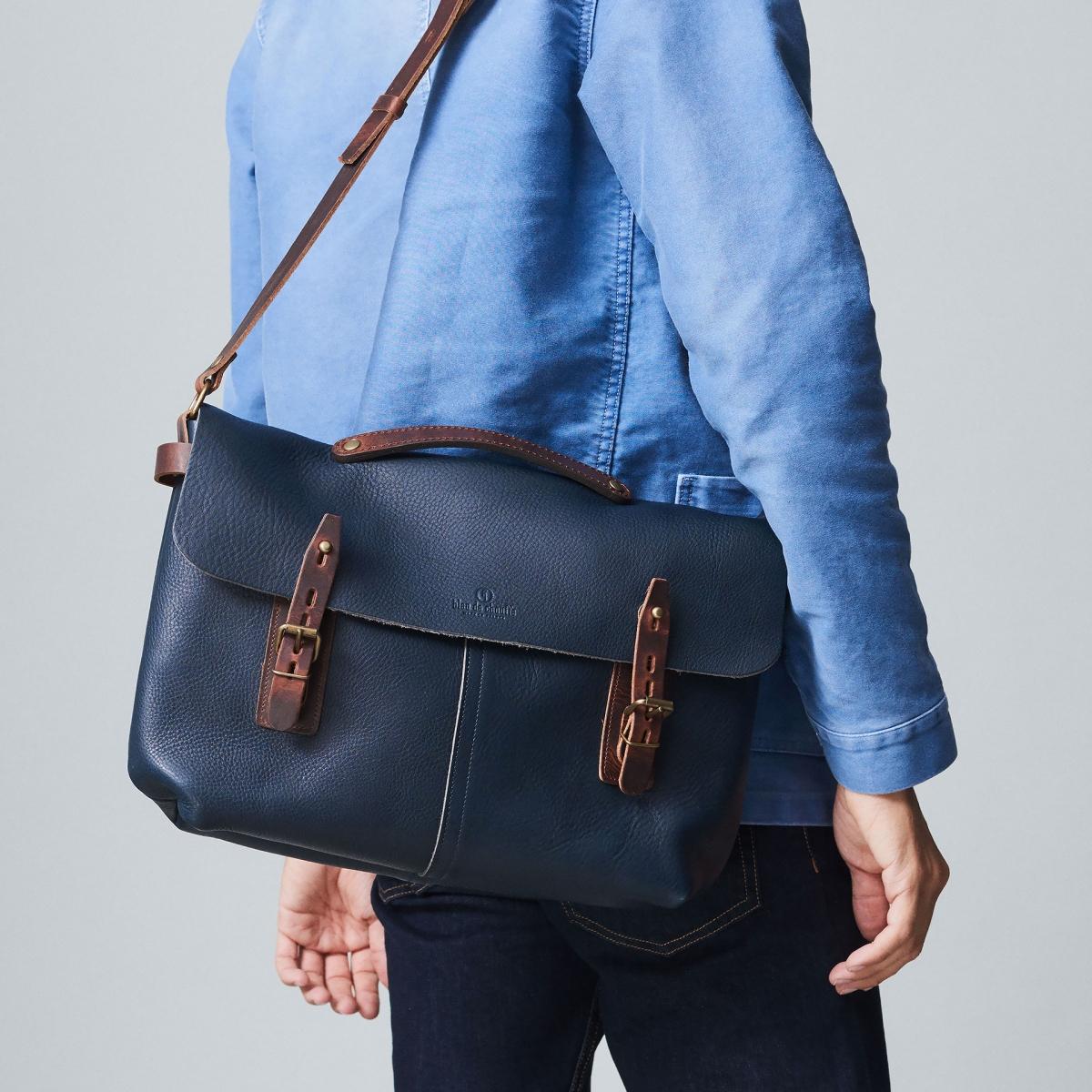 Lucien Satchel bag - Dark Brown (image n°5)