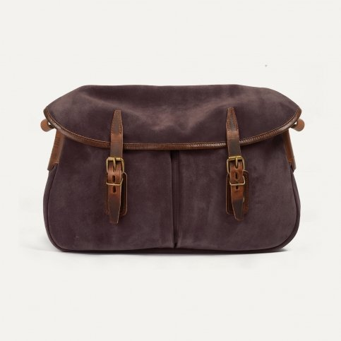 Fisherman's Musette M / Suede - Burgundy