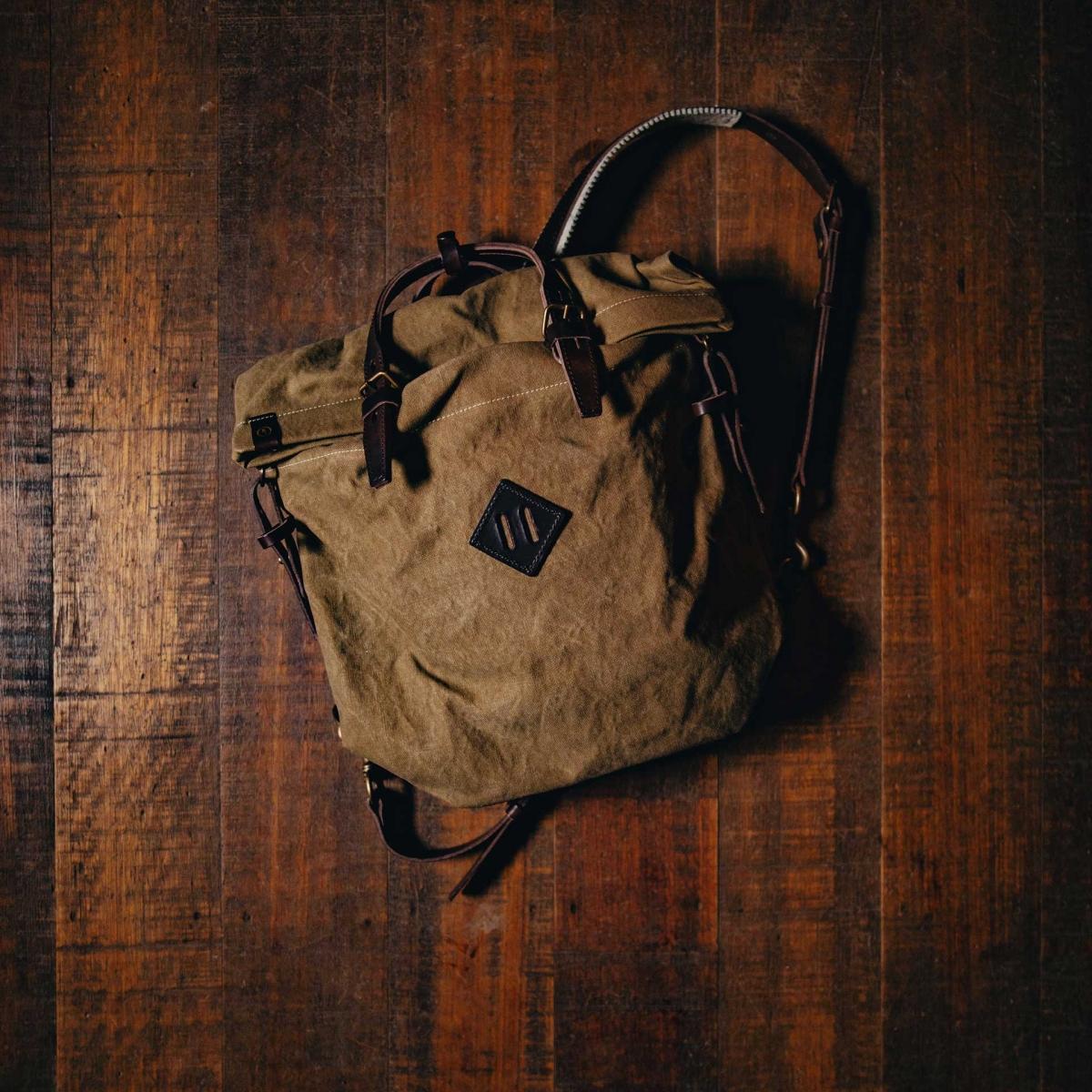 Woody S Backpack - Khaki stonewashed (image n°5)