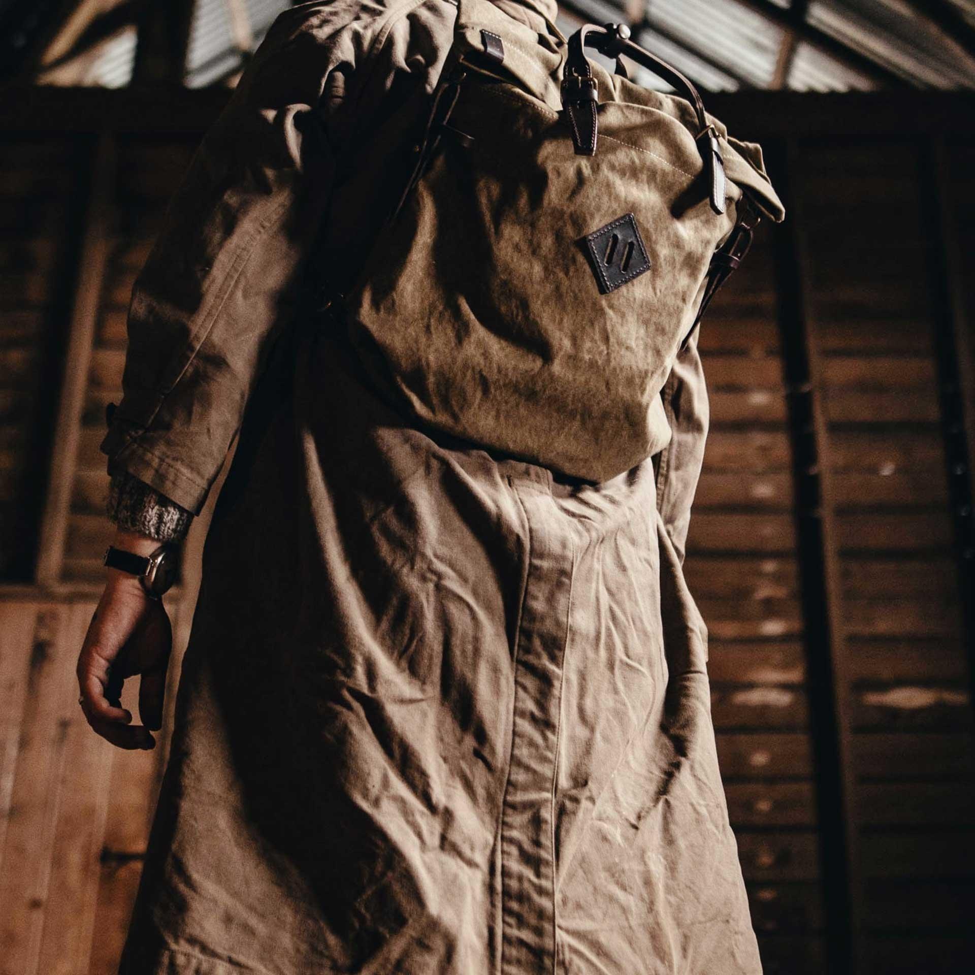 Woody S Backpack - Dark Khaki  (image n°5)