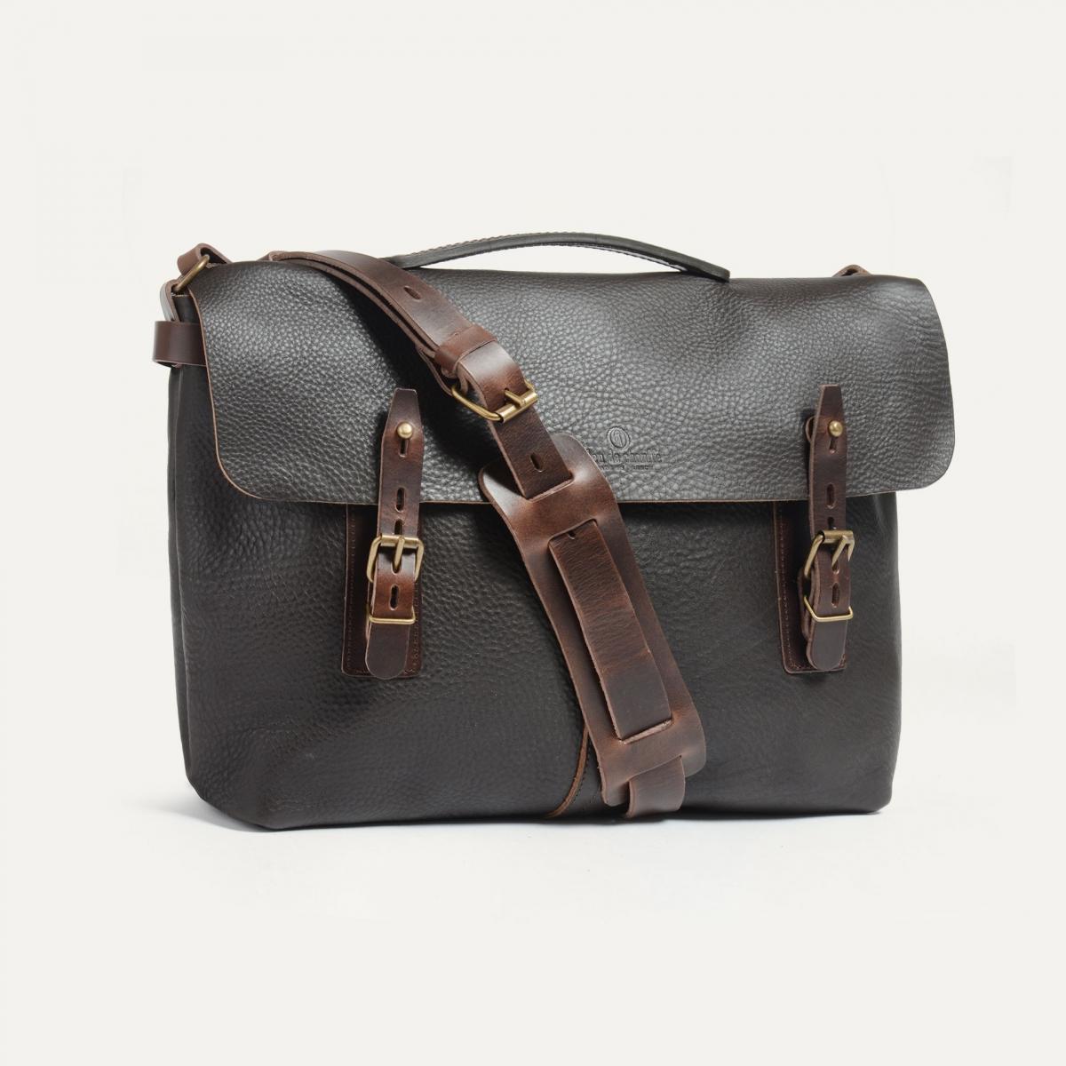 Lucien Satchel bag - Dark Brown (image n°2)