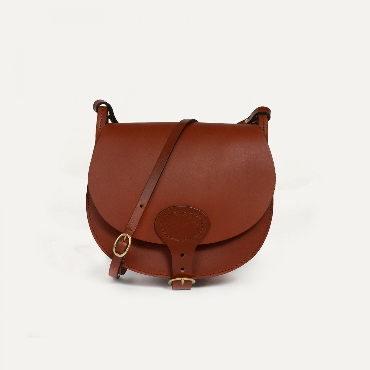Diane M Gibecière bag - Rust (image n°1)