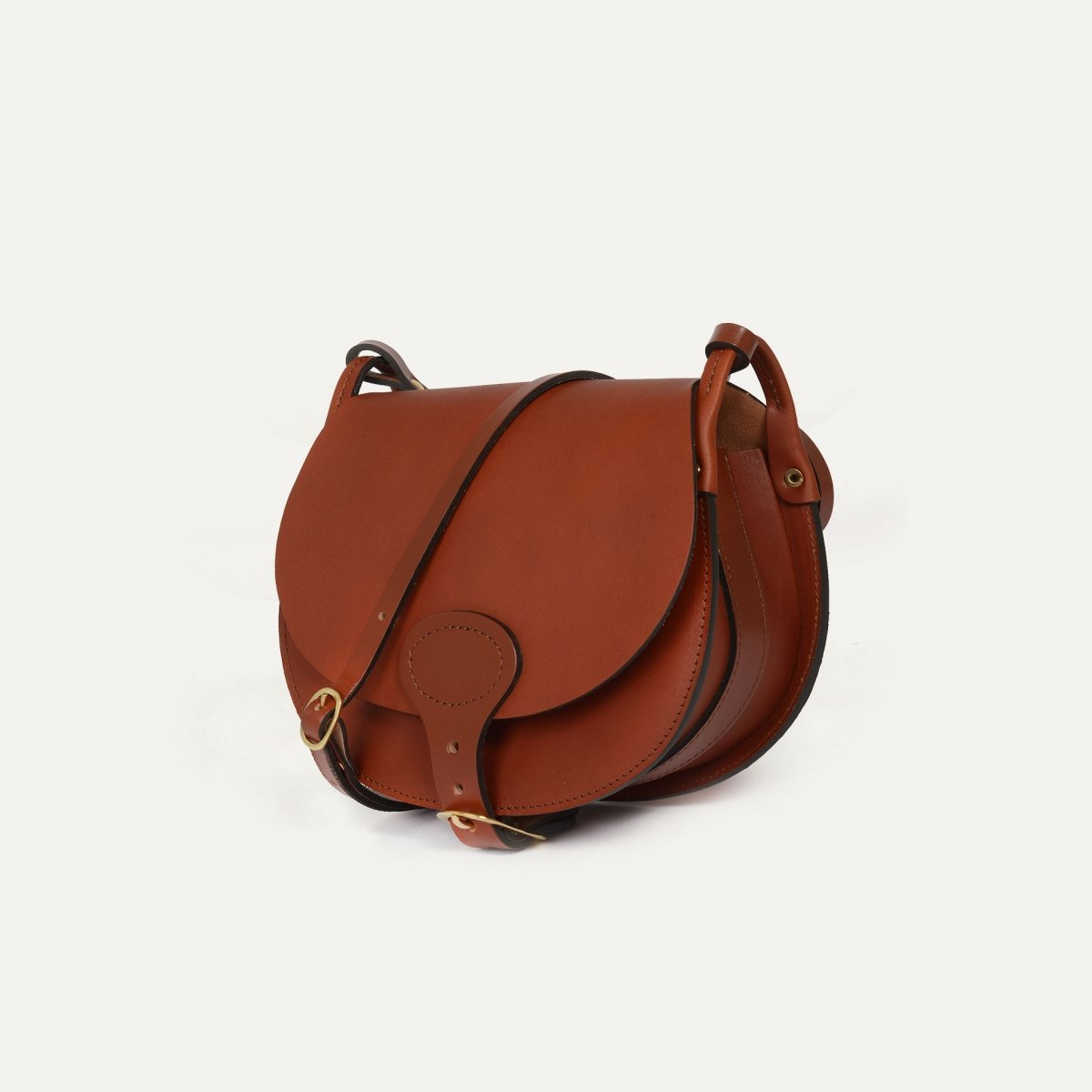 Diane M Gibecière bag - Rust (image n°2)