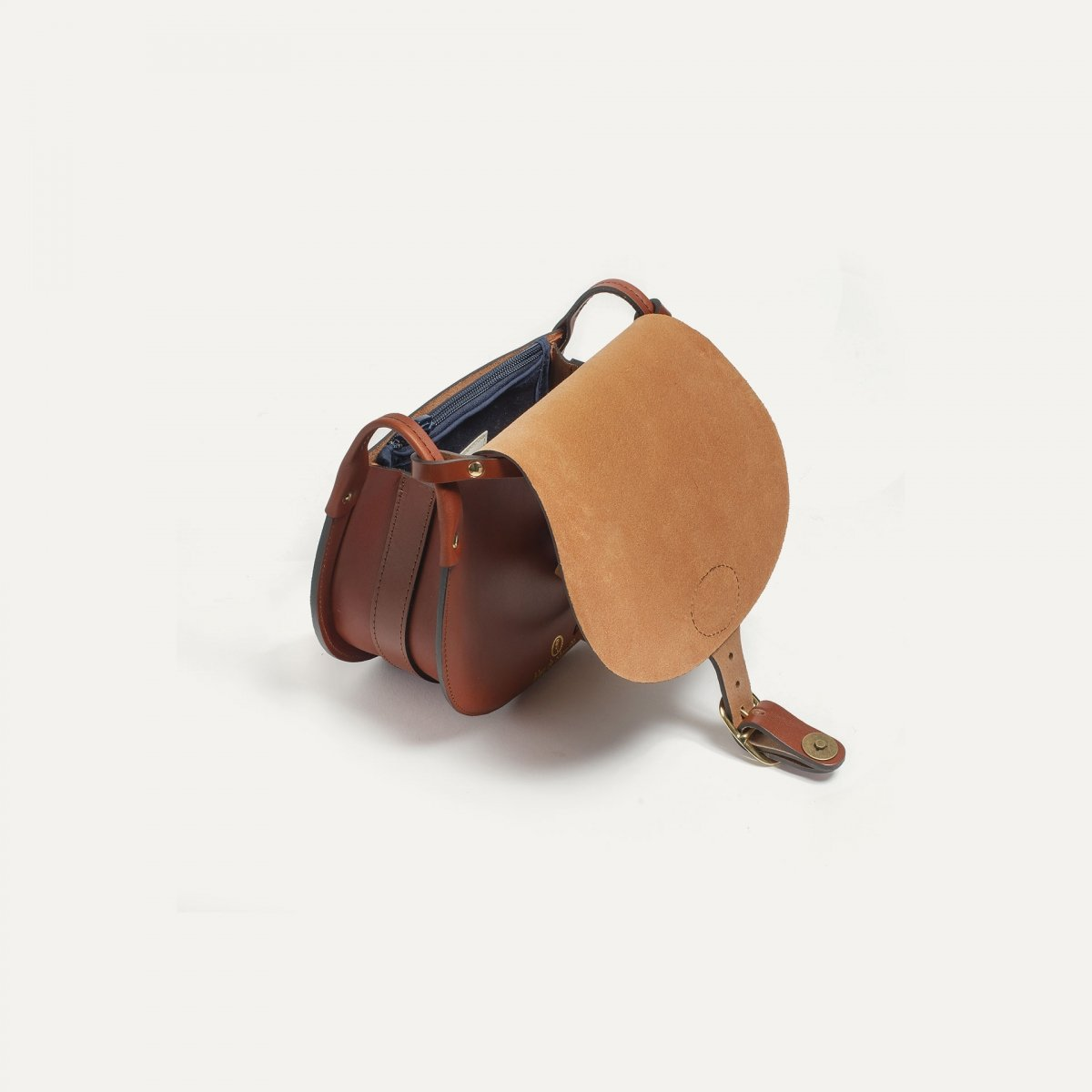 Diane M Gibecière bag - Rust (image n°4)
