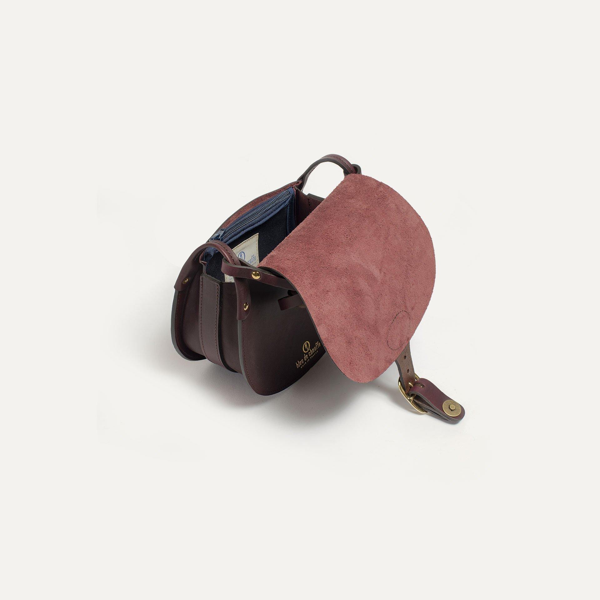 Diane M Gibecière bag - Peat (image n°4)