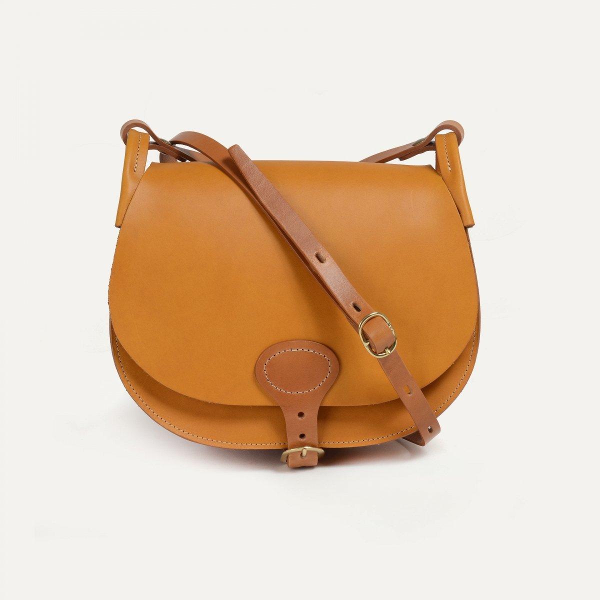 Diane L Gibecière bag - Honey (image n°1)