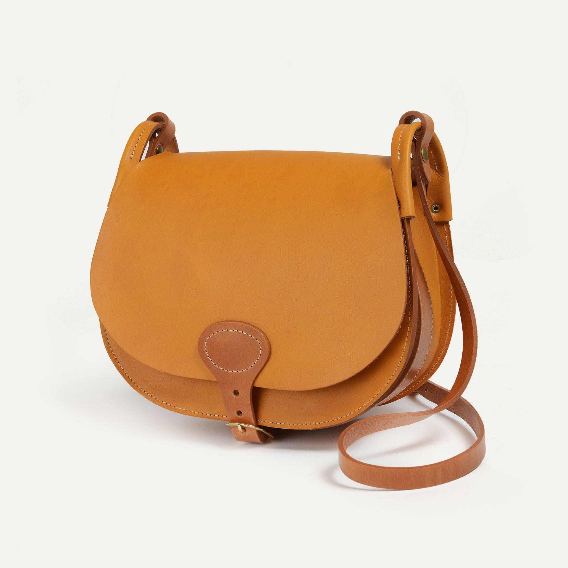 Diane L Gibecière bag - Honey (image n°2)