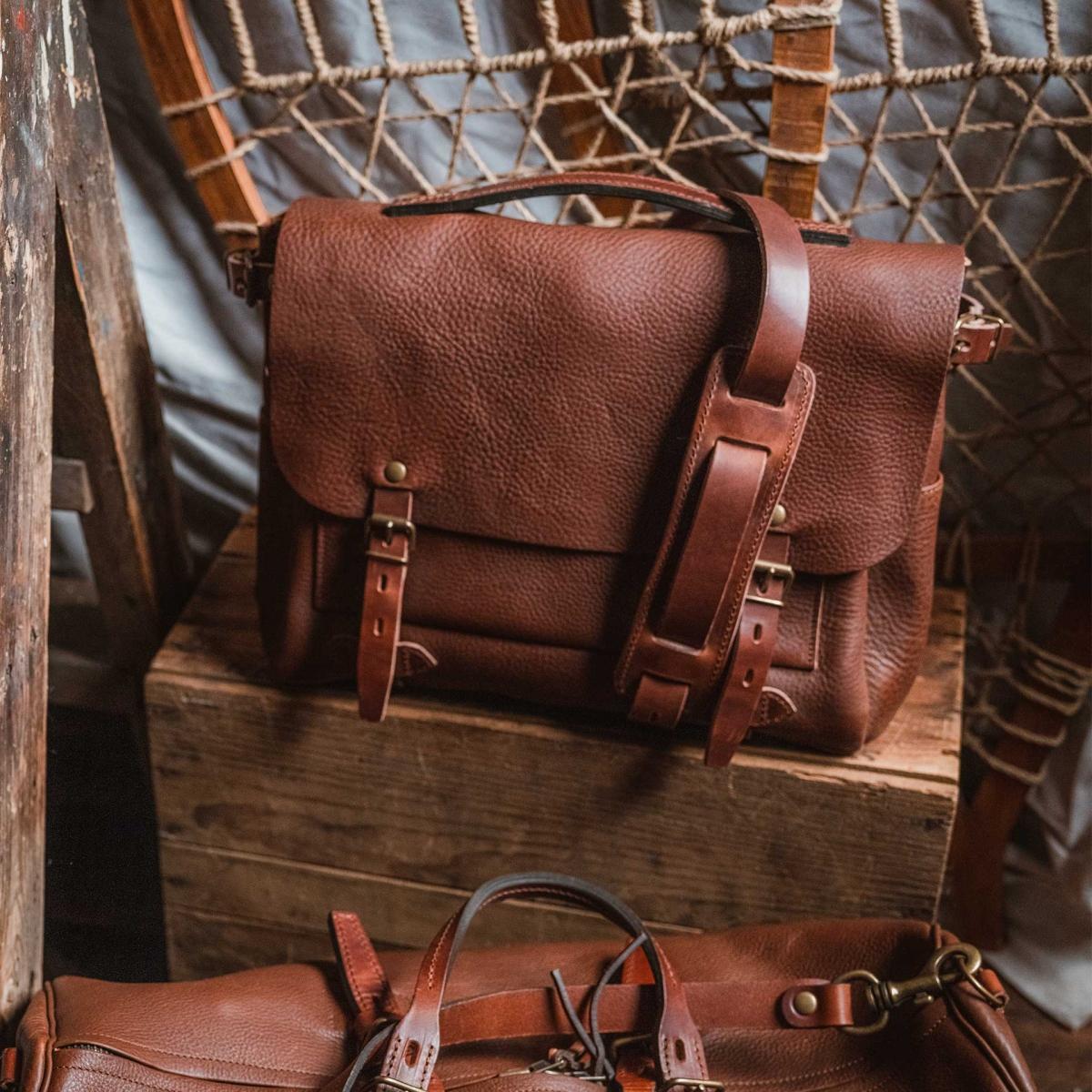 Postman bag Eclair M - Dark Brown (image n°5)