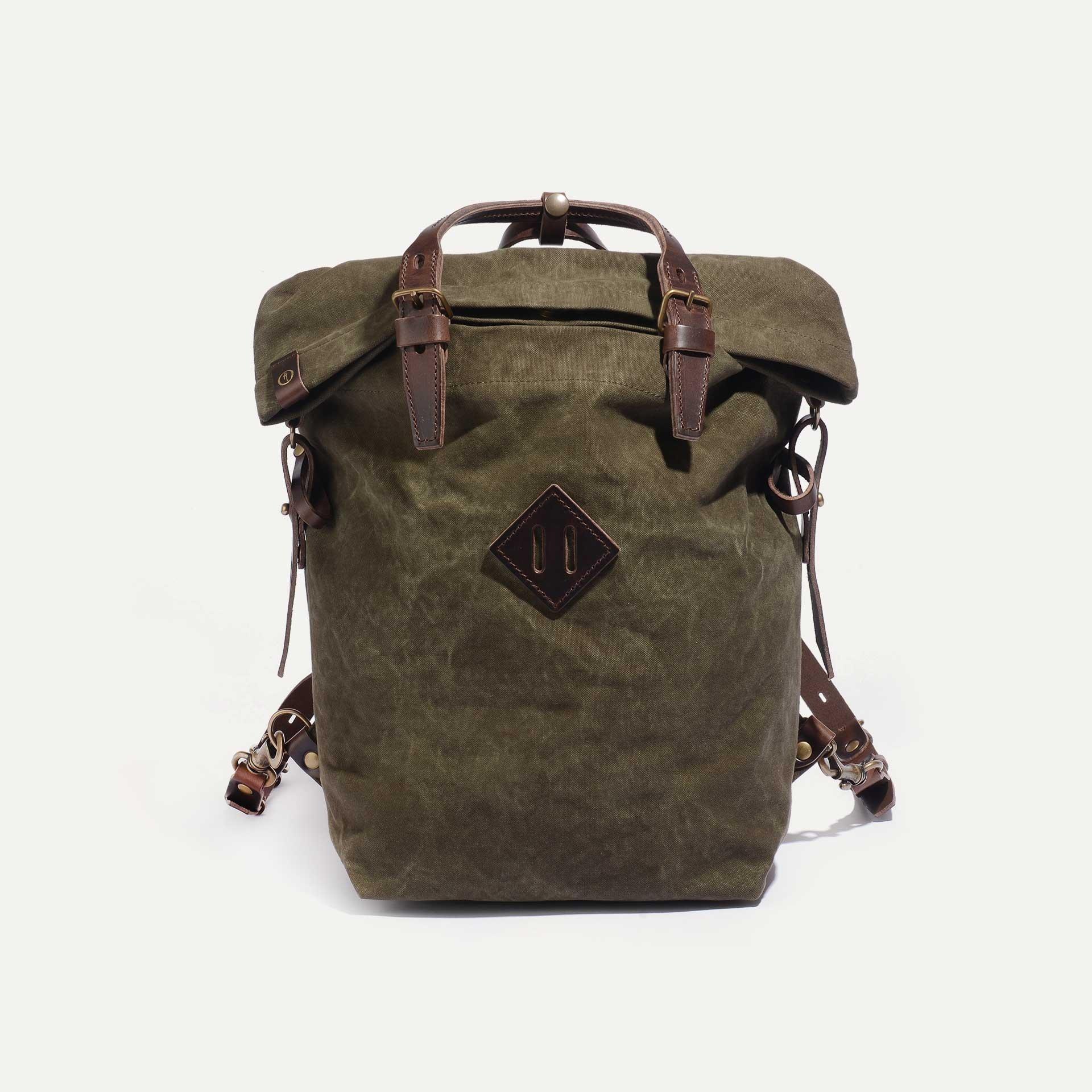 Woody S Backpack - Dark Khaki  (image n°1)