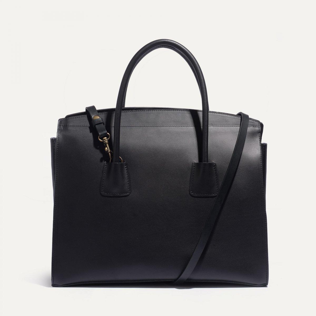Dalva business Tote - Black (image n°1)