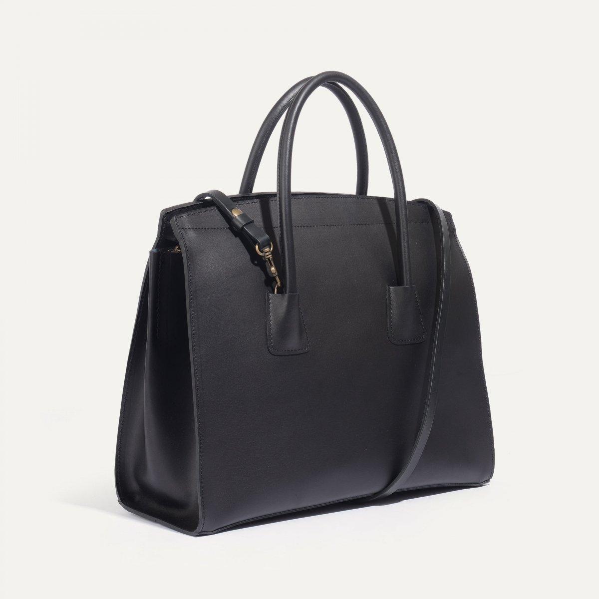 Dalva business Tote - Black (image n°3)