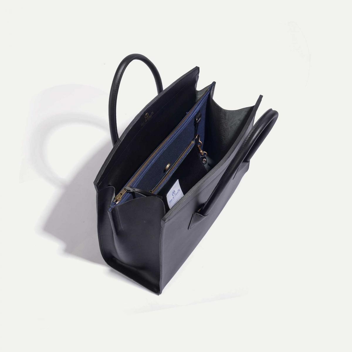 Dalva business Tote - Black (image n°4)